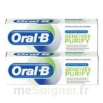 Acheter Oral B Gencives Purify Dentifrice 2*T/75ml à RUMILLY