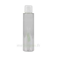 Flacon PET transparent avec capsule service blanche 100ml à RUMILLY