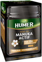 HUMER MIEL MANUKA ACTIF IAA 15+ POT/250G à RUMILLY