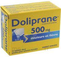 DOLIPRANE 500 mg Poudre pour solution buvable en sachet-dose B/12 à RUMILLY