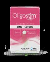 OLIGOSTIM Zinc Cuivre Cpr subl T/40