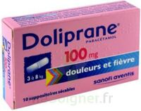 DOLIPRANE 100 mg Suppositoires sécables 2Plq/5 (10) à RUMILLY