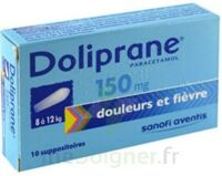 Doliprane 150 Mg Suppositoires 2plq/5 (10) à RUMILLY