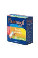FLUIMUCIL EXPECTORANT ACETYLCYSTEINE 200 mg ADULTES SANS SUCRE, granulés pour solution buvable en sachet édulcorés à l'aspartam et au sorbitol à RUMILLY