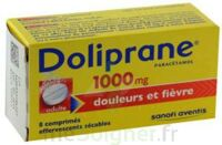DOLIPRANE 1000 mg Comprimés effervescents sécables T/8 à RUMILLY