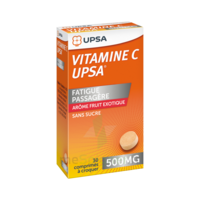 VITAMINE C UPSA 500 mg fruit exotique, comprimé à croquer à RUMILLY
