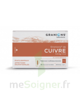 GRANIONS DE CUIVRE 0,3 mg/2 ml S buv 30Amp/2ml à RUMILLY