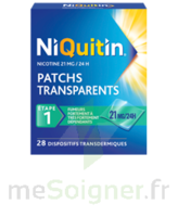 NIQUITIN 21 mg/24 heures, dispositif transdermique Sach/28 à RUMILLY