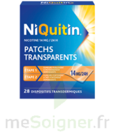 NIQUITIN 14 mg/24 heures, dispositif transdermique Sach/28 à RUMILLY