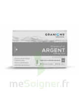 GRANIONS D'ARGENT 0,64 mg/2 ml S buv 30Amp/2ml à RUMILLY