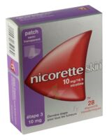 Nicoretteskin 10 mg/16 h Dispositif transdermique B/28 à RUMILLY