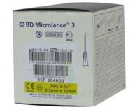BD MICROLANCE 3, G30 1/2, 0,30 mm x 13 mm, jaune  à RUMILLY