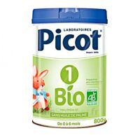 Picot Bio 1 Lait poudre B/800g à RUMILLY