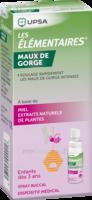 LES ELEMENTAIRES Spray buccal maux de gorge enfant Fl/20ml à RUMILLY