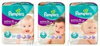 PAMPERS ACTIVE FIT PREMIUM PROTECTION, taille 4, 7 kg à 18 kg, sac 22 à RUMILLY