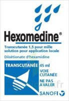 HEXOMEDINE TRANSCUTANEE 1,5 POUR MILLE, solution pour application locale à RUMILLY