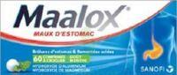 Maalox Hydroxyde D'aluminium/hydroxyde De Magnesium 400 Mg/400 Mg Cpr à Croquer Maux D'estomac Plq/60 à RUMILLY