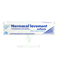 NORMACOL LAVEMENT ENFANTS, solution rectale, récipient unidose à RUMILLY