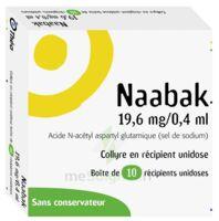 NAABAK 19,6 mg/0,4 ml Collyre en récipient unidose 10Unidoses à RUMILLY