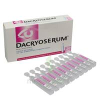DACRYOSERUM Solution pour lavage ophtalmique en récipient unidose 20Unidoses/5ml à RUMILLY