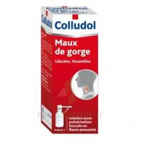 COLLUDOL Solution pour pulvérisation buccale en flacon pressurisé Fl/30 ml + embout buccal à RUMILLY