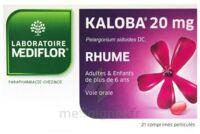 KALOBA 20 mg Comprimé pelliculé Plq/21 à RUMILLY