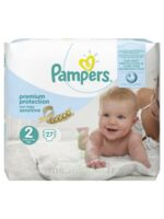 Pampers couches new baby sensitive taille 2 - 27 couches à RUMILLY