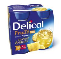 DELICAL BOISSON FRUITEE Nutriment ananas 4Bouteilles/200ml à RUMILLY