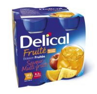 DELICAL BOISSON FRUITEE Nutriment multi fruits 4Bouteilles/200ml à RUMILLY