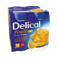 DELICAL BOISSON FRUITEE Nutriment orange 4Bouteilles/200ml à RUMILLY