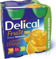 DELICAL BOISSON FRUITEE Nutriment édulcoré orange 4Bouteilles/200ml à RUMILLY