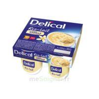 DELICAL RIZ AU LAIT Nutriment vanille 4Pots/200g à RUMILLY