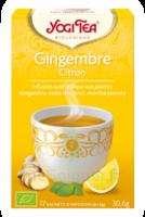 Yogi Tea Gingembre Citron à RUMILLY