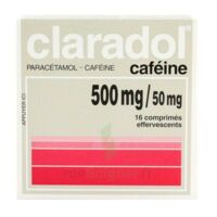 Claradol Cafeine 500 Mg/50 Mg, Comprimé Effervescent à RUMILLY