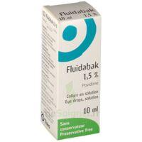 FLUIDABAK 1,5 %, collyre en solution à RUMILLY