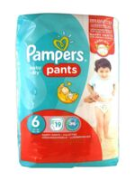 Pampers Baby Dry Pants T6 - 15+kg à RUMILLY
