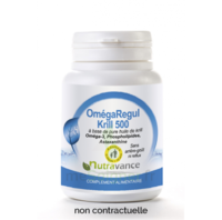 Nutravance Omegaregul Krill 500 60 capsules à RUMILLY
