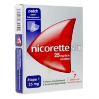 Nicoretteskin 25 mg/16 h Dispositif transdermique B/28 à RUMILLY
