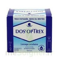 DOS'OPTREX S lav ocul 15Doses/10ml à RUMILLY