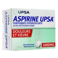 Aspirine Upsa Tamponnee Effervescente 1000 Mg, Comprimé Effervescent à RUMILLY