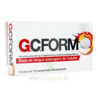 GCFORM, comprimé effervescent à RUMILLY