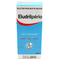 ELUDRILPERIO 0,2 %, solution pour bain de bouche à RUMILLY