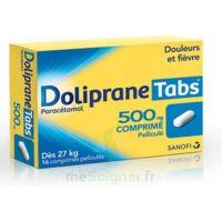 DOLIPRANETABS 500 mg Comprimés pelliculés Plq/16 à RUMILLY
