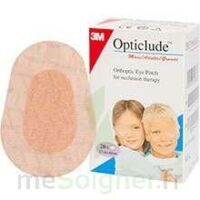 Opticlude Pansement orthoptique chair mini 5x6cm B/20 à RUMILLY