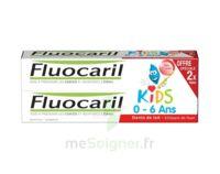 Fluocaril Kids Gel dentifrice Fraise 0/6ans 2*50ml à RUMILLY
