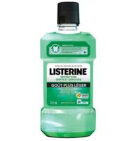 Listerine Protection Dents Gencives Bain bouche goût plus léger Fl/500ml à RUMILLY