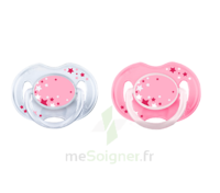 Avent Sucette silicone 0-6 mois Rose B/2 à RUMILLY