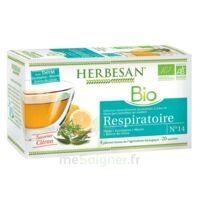 Herbesan Thym bio Tisane respiratoire 20 Sachets à RUMILLY