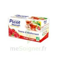 Picot Maman Tisane d'allaitement Fruits rouges 20 Sachets à RUMILLY