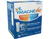 Magnevie Stress Resist Poudre orale B/30 Sticks à RUMILLY